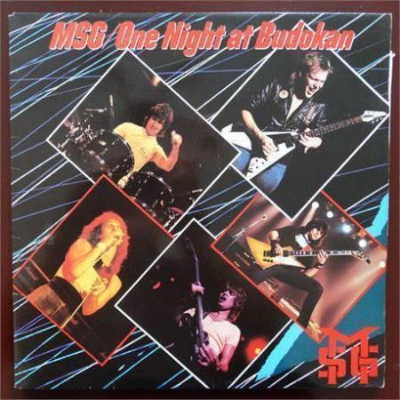 THE MICHAEL SCHENKER GROUP MSG ‎– ONE NIGHT AT BUDOKAN