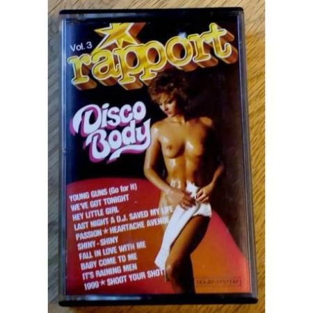 Rapport - Vol. 3 - Disco Body (kassett)