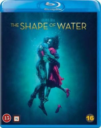 THE SHAPE OF WATER (2017) (FANSTASY DRAMA) (BLU-RAY)