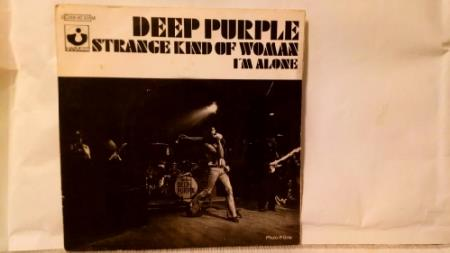 "Deep purple 7 "" singel strange kind of w"