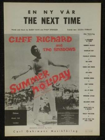 CLIFF RICHARD and The Shadows * SUMMER HOLIDAY The Next Time