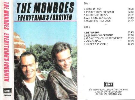 THE MONROES.-EVERYTHING,S FORGIVEN.-1987.