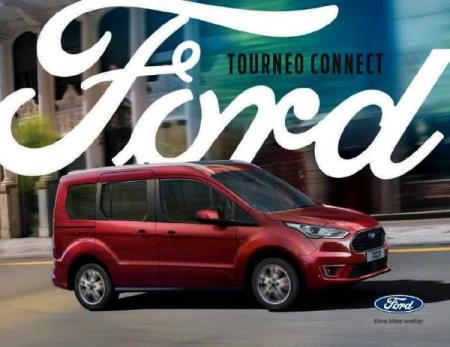 Ford Tourneo Connect brosjyre 08 / 2018 årsmodell 2019 AT