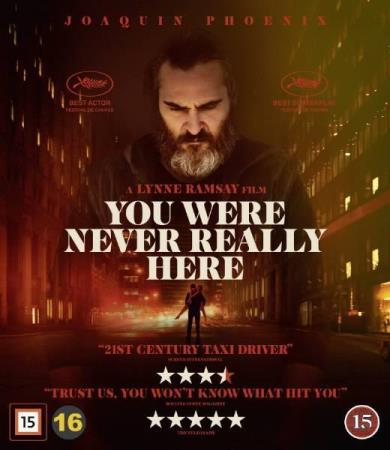 YOU WERE NEVER REALLY HERE (2017) (THRILLER) (BLU-RAY)