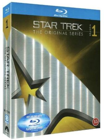STAR TREK - TOS - SESONG 1 (8 DISC) (REMASTERED BLU-RAY)