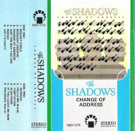 THE SHADOWS.-CHANGE OF ADDRESS.