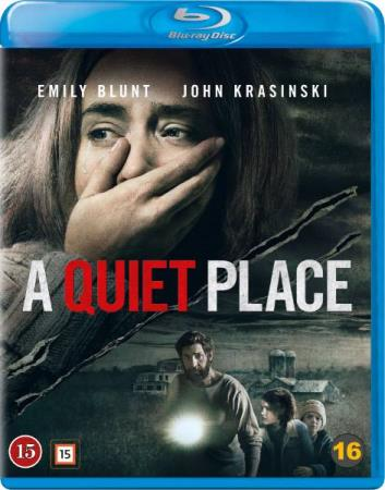 A QUIET PLACE (2018) (HORROR) (BLU-RAY)
