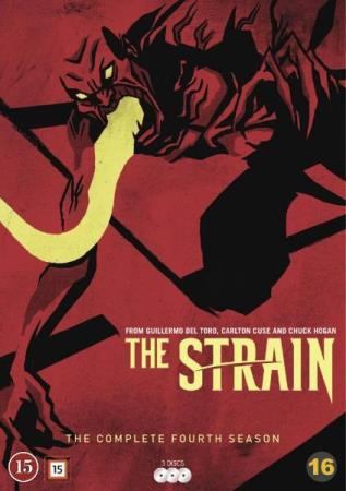 THE STRAIN - SESONG 4 (2017) (3 DISC) (DVD)