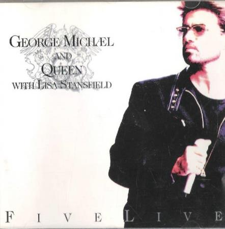 GEORGE MICHÆL AND QUEEN.-WITH LISA STANSFIELD.-FIVE LIVE.