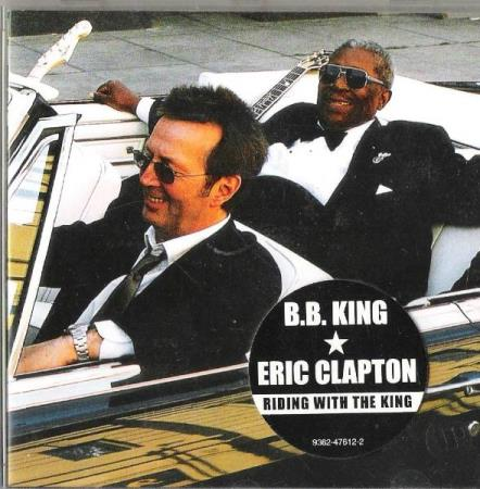B.B.KING-ERIC CLAPTON.-RIDING WITH THE KING.-2000.