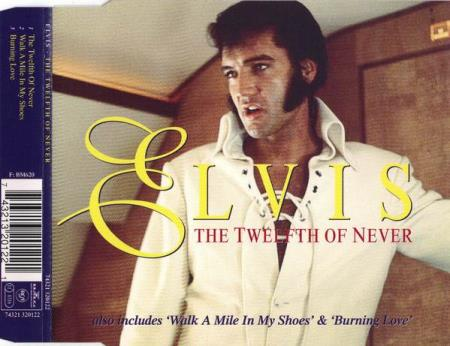 Elvis Presley - The Twelfth Of Never - CD-Singel
