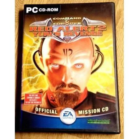 Command & Conquer - Red Alert 2 - Yuris Revenge Mission CD