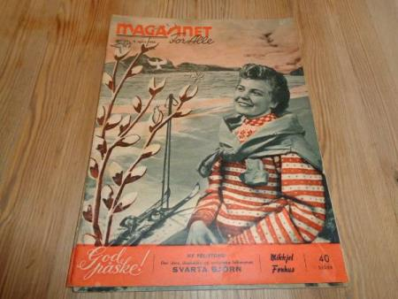Magasinet for alle nr. 14-1955 m/ Mikkjel Fønhus