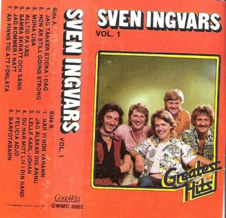 SVEN INGVARS-GREATEST HITS.-VOL 1.-1981.