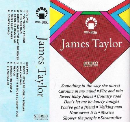 JAMES TAYLOR.-SOMETHING IN THE WAY SHE MOVES.