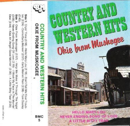 OKIE FROM MUSKOGEE.-COUNTRY AND WESTERN HITS.