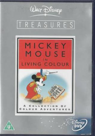 Mickey Mouse In Living Colour DVD (Dobbel DVD)