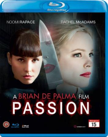 PASSION (2013) (NOOMI RAPACE) (BLU-RAY)