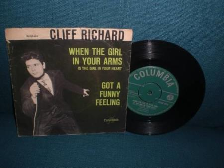!! Cliff Richard -Norsk Columbia 7