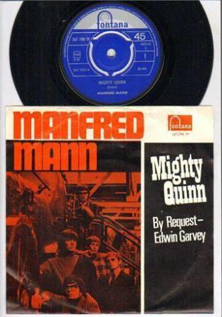 Manfred Mann - Mighty Quinn ( Norsk mono 1968 )