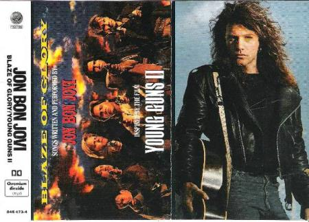 BON JOVI.-BLAZE OF GLORY-YOUNG GUNS II.-1990.