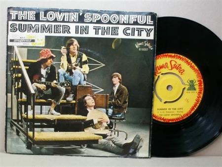 The Lovin Spoonful ‎– Summer In The City - 7""