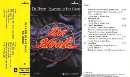 DR.HOOK.-PLAYERS IN THE DARK.-1982.