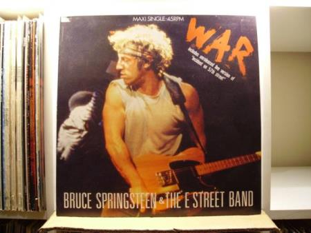 BRUCE SPRINGSTEEN & THE E STREET BAND - WAR / INCIDENT ON 57