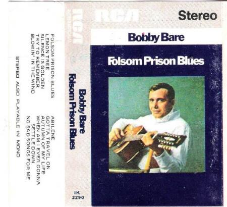 BOBBY BARE.-FOLSOM PRISON BLUES.