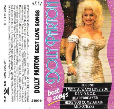 DOLLY PARTON.-BEST LOVE SONGS.-1991.