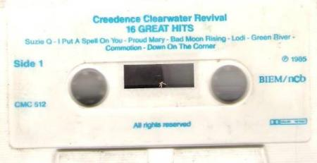 CREEDENCE CLEARWATER REVIVAL.-16 GREATEST HITS.-1985.
