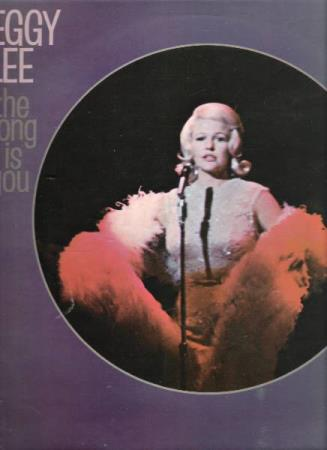 PEGGY LEE.-THE SONG IS YOU.-1958.