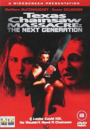 TEXAS CHAINSAW MASSACRE - THE NEXT GENERATION (1994) (DVD)
