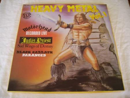 HEAVY METAL VOL.1 3 LP SET