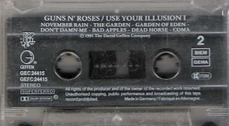 GUNS N;ROSES.-USE YOUR ILLUSION I.-1991.
