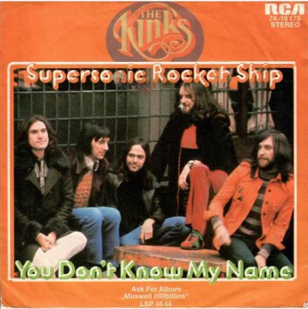 Kinks - Supersonic Rocket Ship / You Dont Know My Name