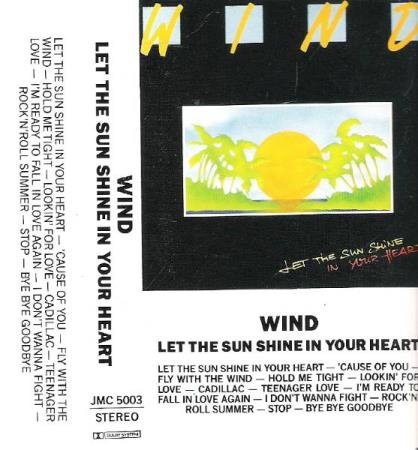 WIND.-LET THE SUN SHINE IN YOUR HEART.-1987.