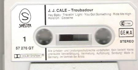 J.J.CALE.-TROUBADOUR.-COCAINE.