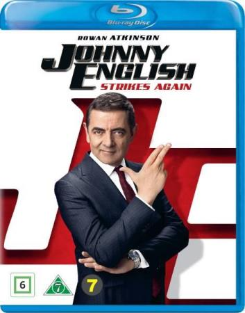 JOHNNY ENGLISH STRIKES AGAIN (2019) (BLU-RAY)