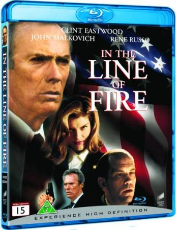 IN THE LINE OF FIRE (1993) (CLINT EASTWOOD) (BLU-RAY)