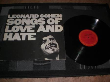 !! Leonard Cohen ‎– Songs Of Love And Hate 1971 !!