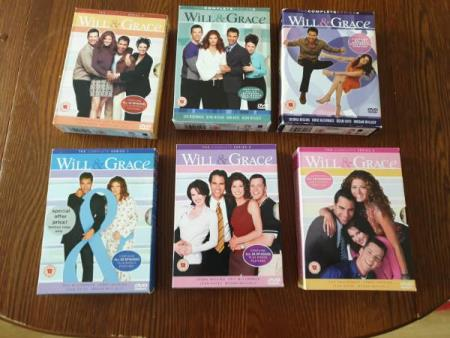 Will & Grace - Sesong 1-6