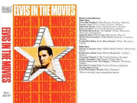ELVIS PRESLEY.-ELVIS IN THE MOVIES.