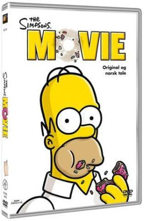 THE SIMPSONS - THE MOVIE (2007) (ANIMATION) (DVD)