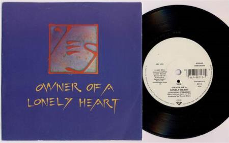 YES Owner Of A Lonely Heart 1991 German reissue 7""