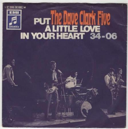 Dave Clark 5/Put a liitle love in your heart - tysk