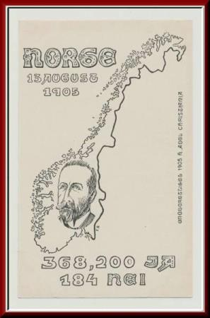 ★★ NORGE 13 AUGUST 1905 ★★