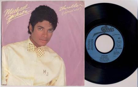 MICHAEL JACKSON Thriller (Special Edit) 1982 French 7""
