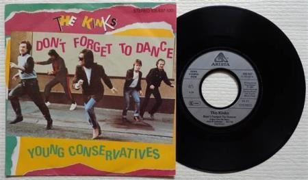 THE KINKS Dont Forget To Dance 1983 German 7""