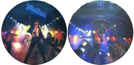"""JUDAS PRIEST Unleashed Leftovers 10"""" pic-disc"""